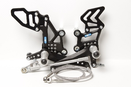 Rear set Kawasaki ZX-300/ZX-300*ABS (2013-2017)