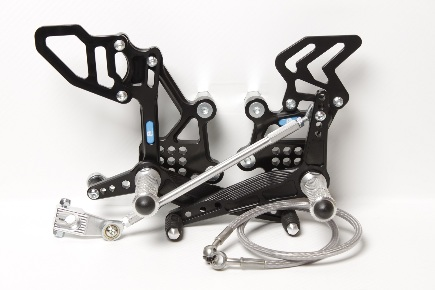 Rear set Kawasaki ZX-300/ZX-300*ABS (2013-2017) with revers shifting