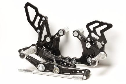 Stupačky na Honda CBR400R/ CBR500R/ CB400F/ CB500F (2013-2017)