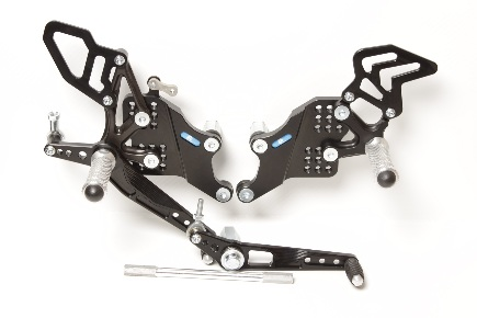 Rear Set Honda CBR 1000RR (2004-2007) with Revers Shifting