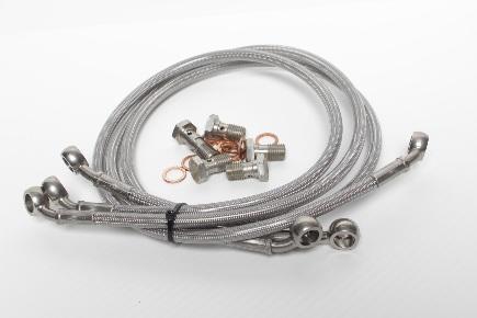 Set brzdových hadic CBR300