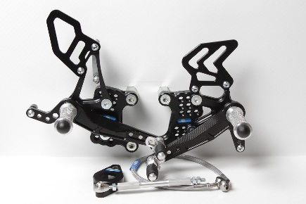 Rear Set KTM Super Duke 990 (2006-2012) with revers shifting
