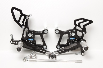 Rear Set Kawasaki ZX-10R (2011-2015) with Reverse Shifting