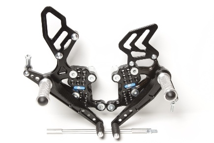 Rear Set Triumph Speed Triple 1050 (2008-2010)