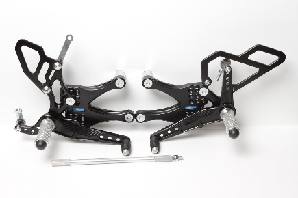 Rear set Triumph Street Triple 675 (2008-2012)