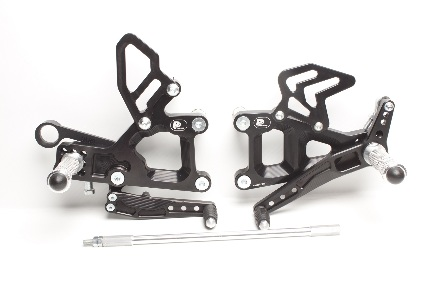 Rear set Triumph Street Triple 675 (2013-2016)