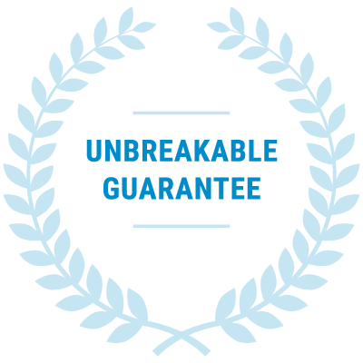 Unbreakable guarantee