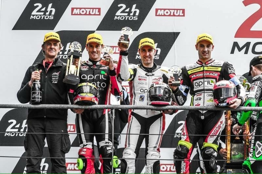 April Moto Motors Events team second in 24 hours of Le Mans
