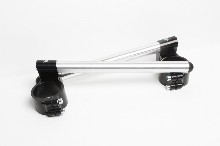 Motorcycle clip-on handlebars Ø 50,8 mm raised, type R