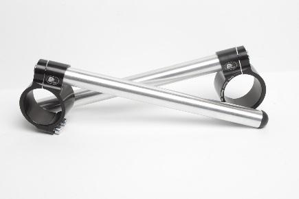 Motorcycle clip-on handlebars Ø 52 mm, type Sport