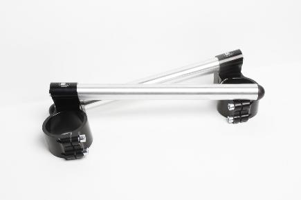 Motorcycle clip-on handlebars Ø 50,8 mm raised, type R