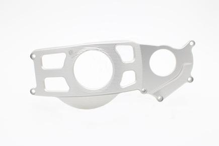 DURALOVÉ Protektory na motor Suzuki GSX-R1000 (2017 - ), stříbrné, pravá strana