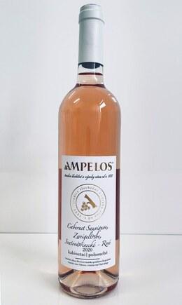 Cabernet Sauvignon / Zweigeltrebe / Svatovavřinecké rosé 2020