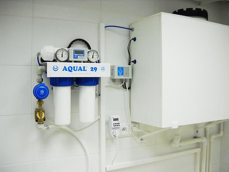 Základní typ pro laboratoře – výkon do 18l /hod.