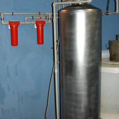 Změkčovač horké vody včetně horkovodní předfiltrace – rekonstrukce