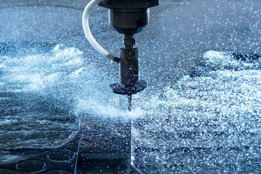 Úprava vody pro řezání vodním paprskem