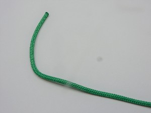 5mm polyester line, green