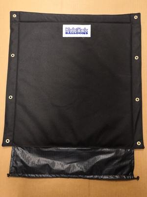 Basket pocket - operation lines - black