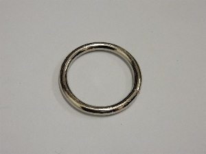 O ring 30x4, welded, nickel plated
