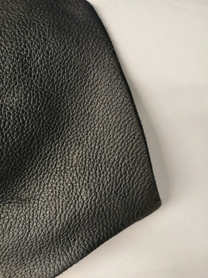 Smooth leather, black