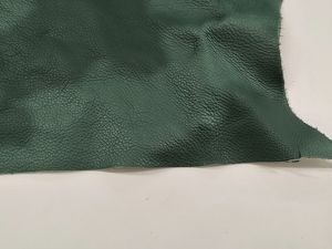 Smooth leather, green