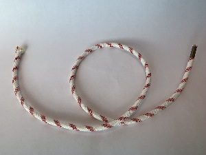Control line 8mm, white/red