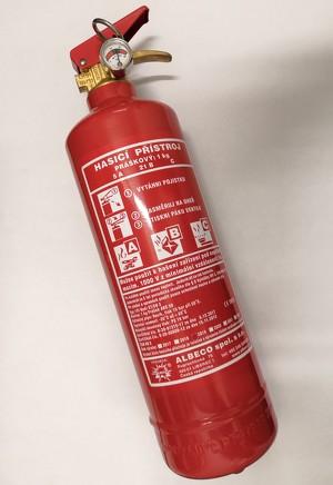 Fire extinguisher, 1 kg