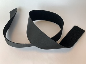 VELCRO 50mm, black, soft