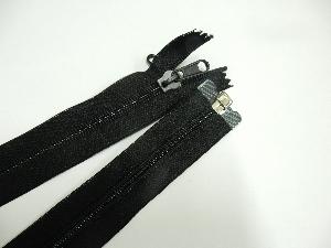 Burner bag zipper