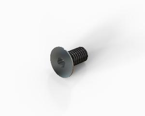 M4x8 Hexagon socket countersunk head cap bolt, stainless steel