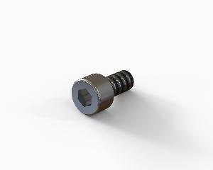 M5x10 Hexagon socket head cap bolt, stainless steel