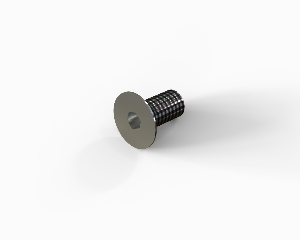 M5x10 Hexagon socket countersunk head cap bolt