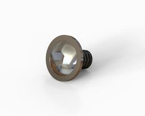 M6x10 Flange button head hexagon socket cap bolt, Stainless steel