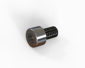 M6x10 Hexagon socket head cap bolt, stainless steel