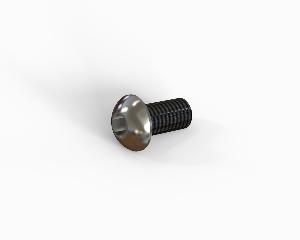 M6x12 Hexagon button head socket cap bolt, stainless steel