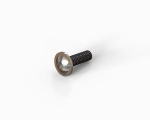 M6x20 Flange button head hexagon socket cap bolt, Stainless steel