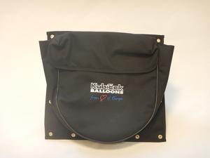 Basket pocket - drop line - black