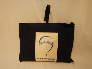 Envelope bag, square, 110x110 cm, blue
