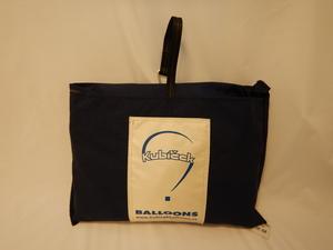 Envelope bag, square, 80x80 cm, blue