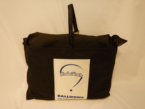 Envelope bag, 150x130 cm, black