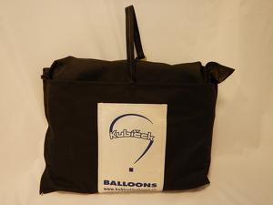 Envelope bag - diameter 150 cm, black