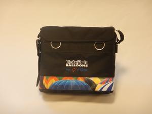 Pilot bag - textile - black