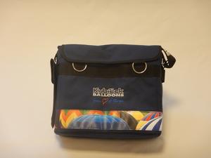 Pilot bag - textile - blue