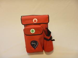 Basket pocket small - red