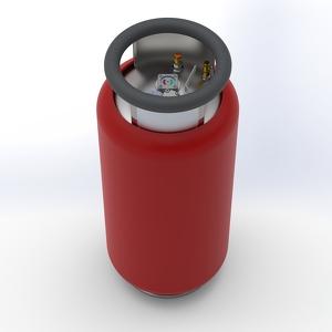 KB72L Fuel cylinder - S, TEMA