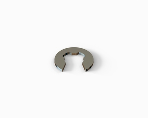 Retaining washer for shaft 7, stainless steel