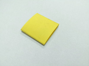 Heat-shrink 25,4/12,7 - yellow