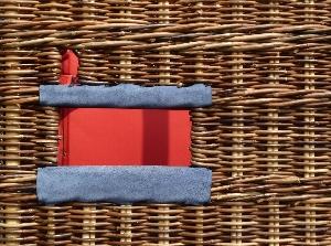 Basket weave, padding and ropes