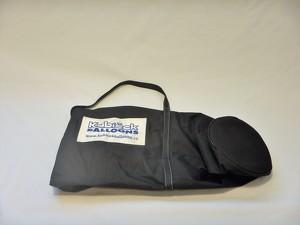Burner rod bag - black