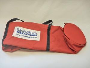 Burner rod bag - red